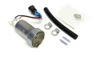 F90000267 Walbro 450lph E85 Performance Fuel Pump W Install Kit Authentic