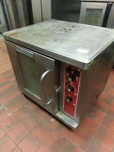 Blodgett Ctbr Single Half Size Electric Convection Baking Cooking Oven 1 2 Used