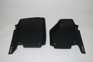 Custom Wade Floor Mats In Black For A Toyota Tacoma double Hook 2012 2013