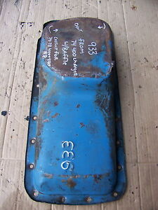 1974 Dodge Charger 400 Oil Pan Oem 933 74 75 76 77 78 440 Hp New Yorker