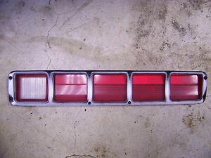 1972 Plymouth Fury Iii Rh Taillight Lens