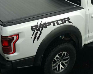 Ford F150 Truck Raptor Svt Bed Side Solid Claw Scratch Graphics Decals Sticker