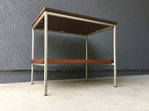 Vista Furniture Wood Table Vintage Mid Century California Modern Vkg Eames Era