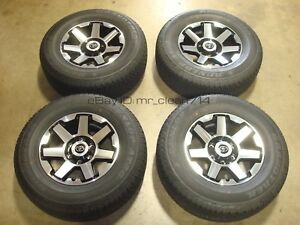 17 16 19 Toyota 4runner Trd Trail Wheels Rims Tires Oem Factory Tacoma Alloy