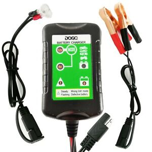 Daga Battery Charger Automatic Maintainer 12v 1 5amp For Harley Davidson