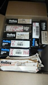 9 Holley Carburetor Renew Kits Lot
