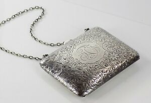 Vintage Sterling Silver Coin Purse 103 8 Grams 2073
