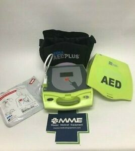 Zoll Aed Plus Public Use Aed 2 Yr Warr Non led Display New Pads