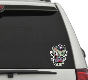 Hello Kitty Zombie Sticker Decal Sticker Car Laptop Free Shipping Kitty
