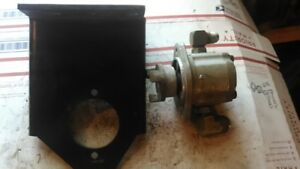 Used Dowty Hydraulic Pump P3036a And Mounting Bracket