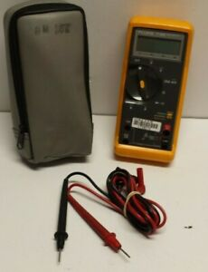 Fluke 77 bn Digital Multimeter With Case And Leads Free Shipping