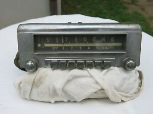 6v Mopar Am Radio Maybe From The 1950 S
