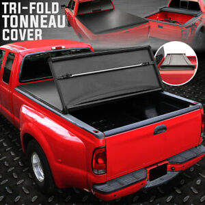 For 07 17 Toyota Tundra 5 5 Bed Tri Fold Adjustable Soft Trunk Tonneau Cover
