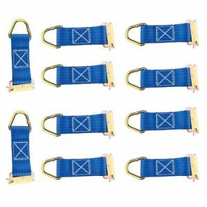 10 Pk E Track Tie Off Rope Cargo Down Straps Fitting Enclosed Trailer E Track