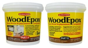 Epoxy Wood Putty 2quart
