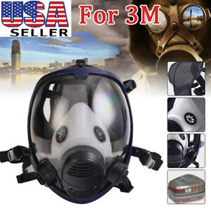 7 In 1 Facepiece Respirator Painting Spraying For 3m 6800 Full Face Gas Mask Us