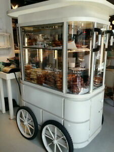 Push Cart For Pretzel Sales Cart Cookie Sales Cart Cupcake Sales Hotdog Sales