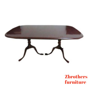Pennsylvania House Cherry Pedestal Dining Room Conference Table
