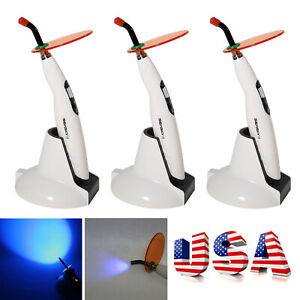 3 usa Dental Led Wireless Cordless Curing Light Lamp 1400mw Woodpecker Style B f