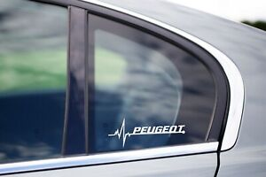 Peugeot Is In My Blood Bumper Window Vinyl Decal Sticker 206 309 207 Gti 208