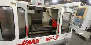 Haas Vf3 Vertical Mill Year 1995 W 4th Axis Rotary Table