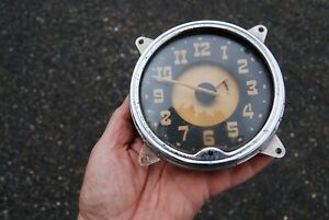 1951 52 Hudson Hornet Dash Clock Good Looking Original Dated Oct 1950