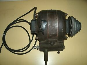 Vintage General Electric 1 6hp Motor Model 28020