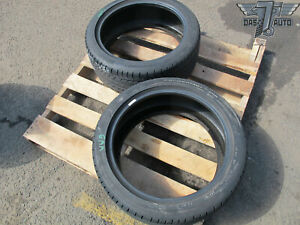 Two 2 Continental Procontact Gx 245 40 R18 245 40 Set Of 2 Tires High Tread