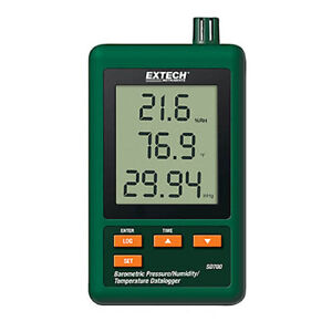 Extech Sd700 Barometric Pressure humidity temp Datalogger 32 To 122 f