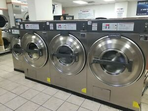 Used Commercial Coin Washer 40 Lb Continental L1040 Working Condition 3 Phase