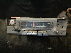 Mopar 1970 1972 Dodge Dart Plymouth Duster Am Radio Motorola 2884750 Mark Ii