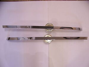 1968 Chrysler Imperial Trunk Lid Lower Edge Trim Lebaron Crown Coupe Ghia