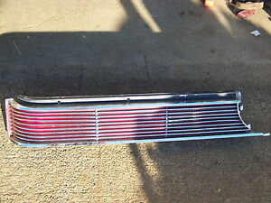 1968 Chrysler Imperial Lh Taillight Housing Lens Crown Coupe Lebaron