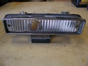 1968 Chrysler Imperial Crown Rh Turn Signal Assembly Complete Convertible
