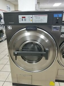 Used Commercial Coin Washer 40 Lb Continental L1040 Needs Repairs 3 Phase