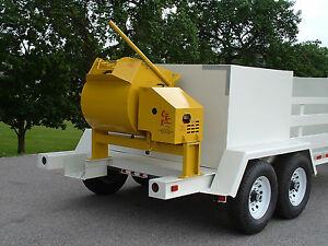 New 9 Cubic Foot Mortar cement Mixer From Curb King