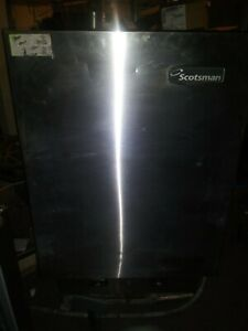 Used Scotsman Mdt5n40a 1h 523lb Nugget Ice Maker Water Dispenser Air Cooled