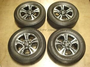 17 16 19 Toyota Tacoma Trd Sport Wheels Rims Tires Oem Factory 4runner Alloy