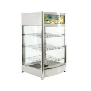 Fma Omcan 40000 Dw cn 0097 Countertop Pizza Food Warmer Display Case 18