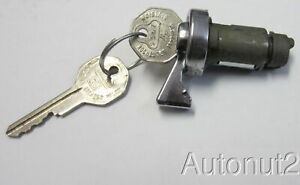 1954 1955 1956 Buick Ignition Lock With Keys Original Nos 1954