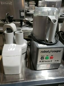 Robot Coupe R301 Continuous Feed Combination Food Processor W 3 5 Qt Polycarbo