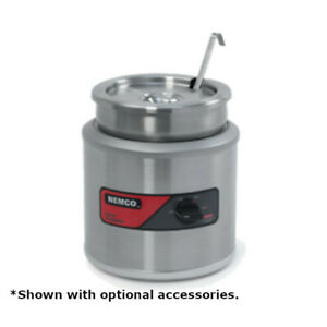 Nemco 6100a icl 7 quart Countertop Round Warmer With Insert