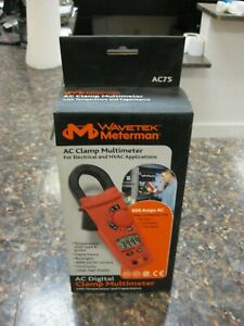 Brand New Meterman Ac75 Clamp Multimeter For Electrical Hvac Application