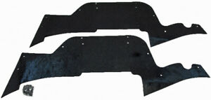 Fender Dust Splash Shield For Ford Ranchero 1972 79 2dr 2pc Rubber Made In Usa