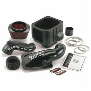 Banks 42132 Ram Air Intake System Kit 01 04 Chevy Gmc Duramax Lb7 6 6l Diesel