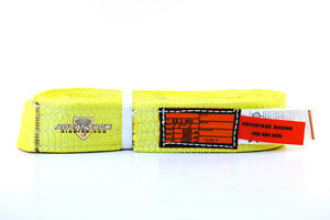Ee2 902 X10ft Nylon Lifting Sling Strap 2 Inch 2 Ply 10 Foot Usa Package Of 4