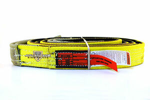 Ee2 902 X10ft Cut Slip Resistant Nylon Lifting Sling Strap 2 Inch 2 Ply 10 Foot