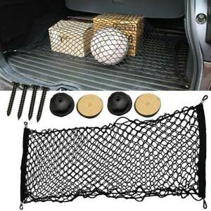 Car Trunk Cargo Net Mesh Storage Organizer Pocket For Subaru Forester Universal