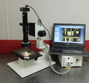 Navitar Zoom 6000 Microscope Inspection System 12 1 Zoom