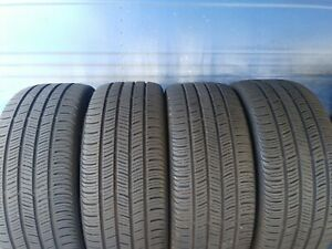 4 Continental Pro Contact Ssr Rft 225 45 18 Bmw With 7 5 8 32nd Tread Left 91 V